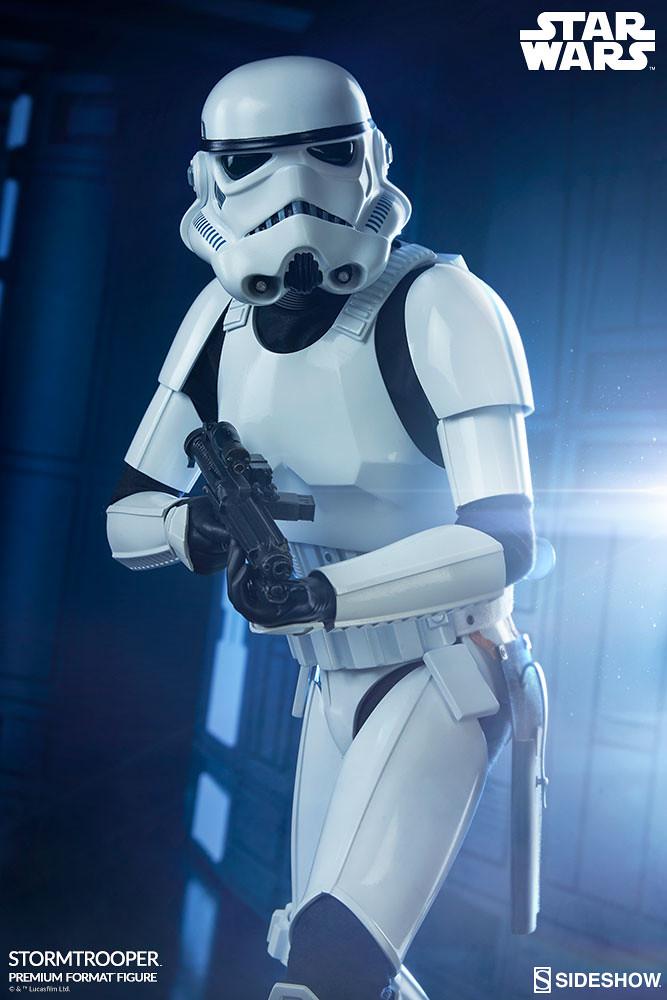 老韓 4 ni~?Sideshow Collectibles Premium Format Figure 系列《星際大戰四部曲:曙光乍現》帝國風暴兵 Stormtrooper 1/4 比例全身雕像作品