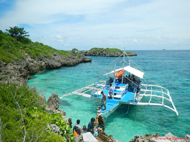 Island Hopping at Malapascua Island