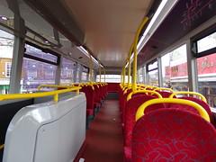 Interior of Uno ADL Enviro 400MMC 286 YY64 GXG