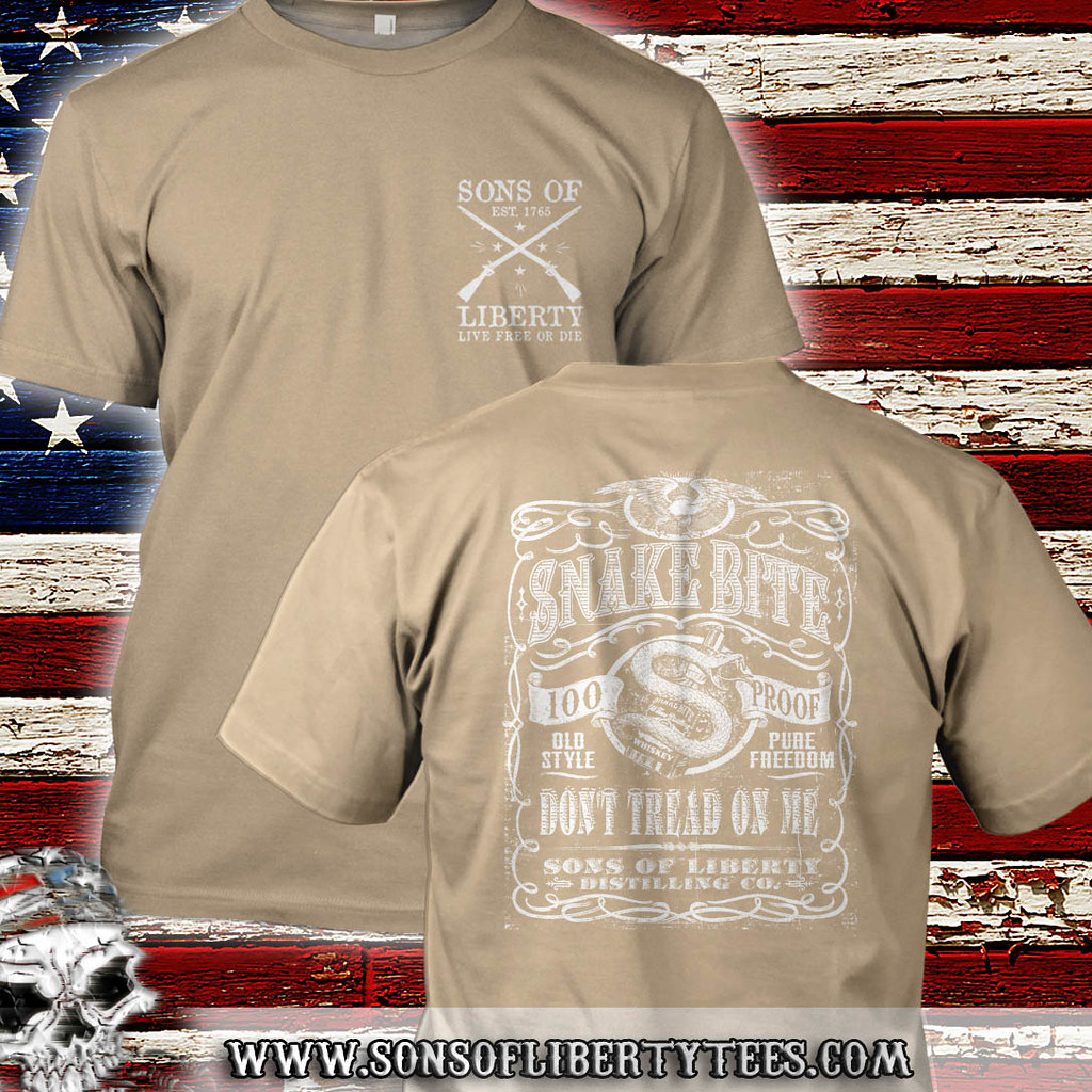 1dd72fd1 by Sons of Liberty Snake Bite Don't Tread on Me Distilling Co. | by Sons of  Liberty