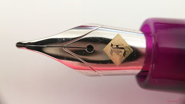 Review Franklin-Christoph Model 31 Omnis Purpurae Fountain Pen 14kt Gold Nib @1901FC 8