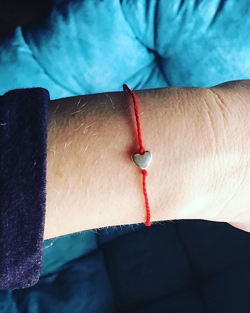 "It's a lil' ""wish"" bracelet. ❤️"