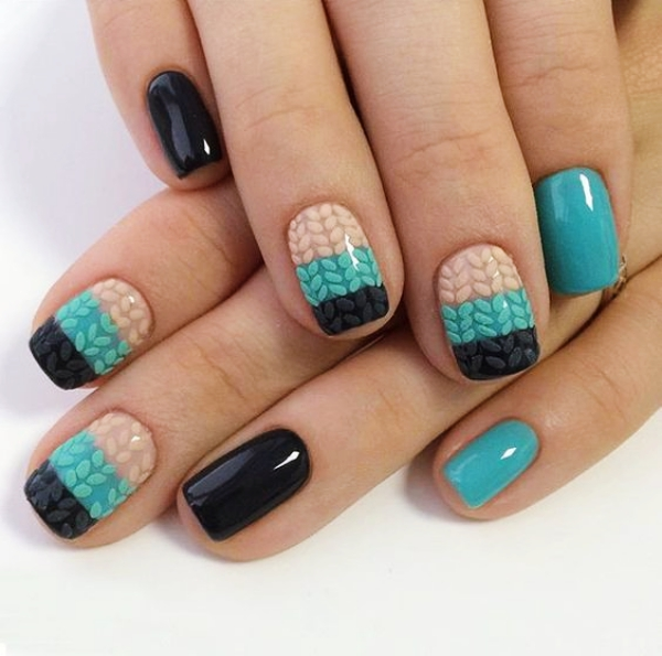 Tough Paint Nail Art 2018 - Nails Designs For Teens