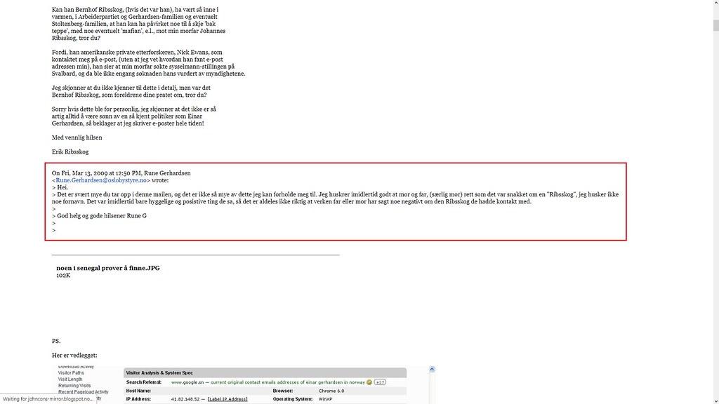 e-post fra rune gerhardsen
