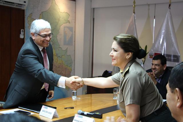 Firma de Convenio Dirsapol y SaludPol