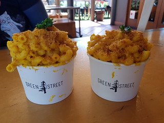 Mac and Cheese from Green Street Food at Brisbane Vegan Markets