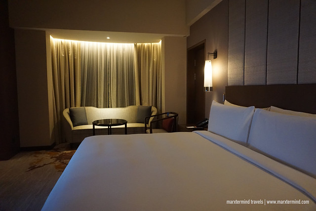 My King Bed at Hilton Kota Kinabalu