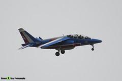 E122 4 - E122 - Patrouille de France - French Air Force - Dassault-Dornier Alpha Jet E - RIAT 2008 Fairford - 070711 - Steven Gray - IMG_6366