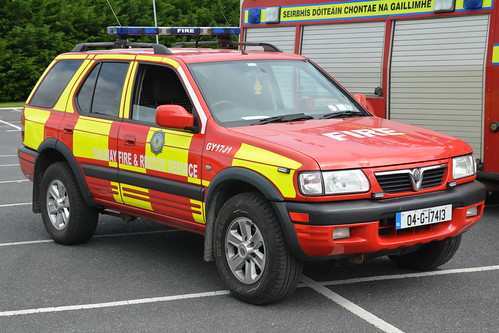 Galway County Fire Service 2004 Vauxhall Frontera Sidhean Teo L4V 04G17413