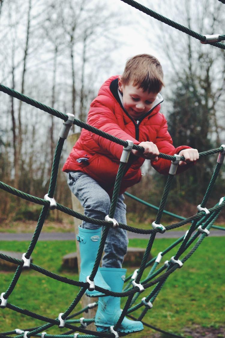 Net climbing high K L