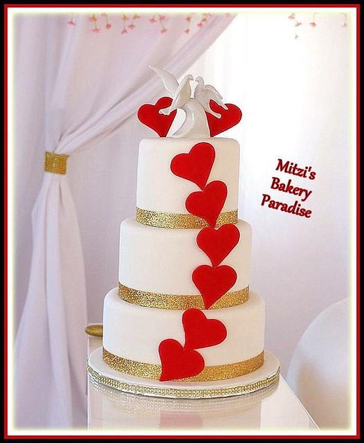 Cake by Mitzi Martin Malcolm of Mitzi's Bakery Paradise