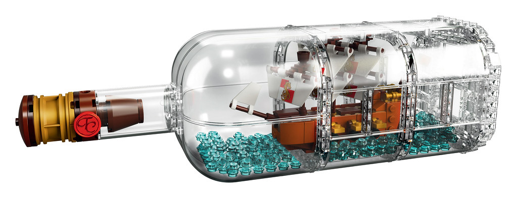 LEGO Ideas 21313 - Ship in a Bottle