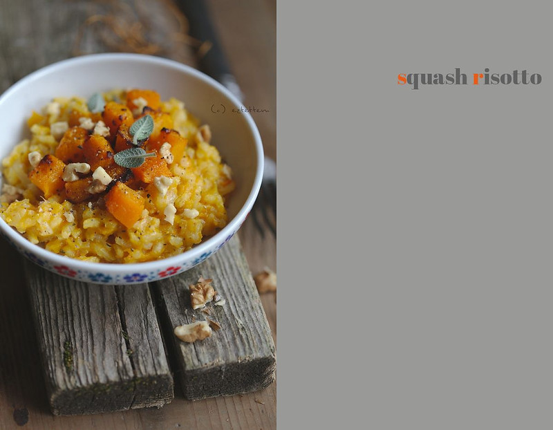 squash and sage risotto