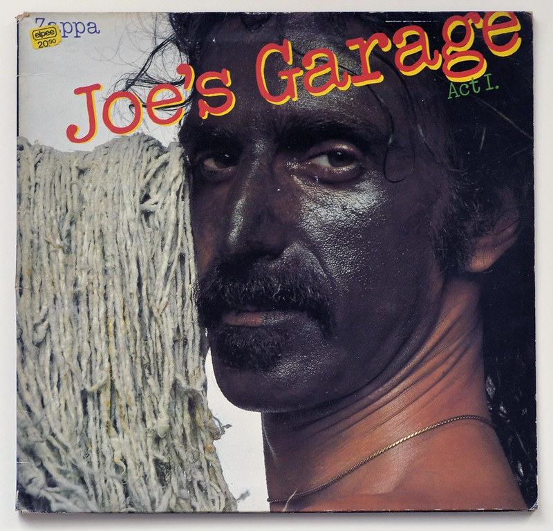 Frank Zappa Joe S Garage Act I Prog Rock Avantgarde Vinyl