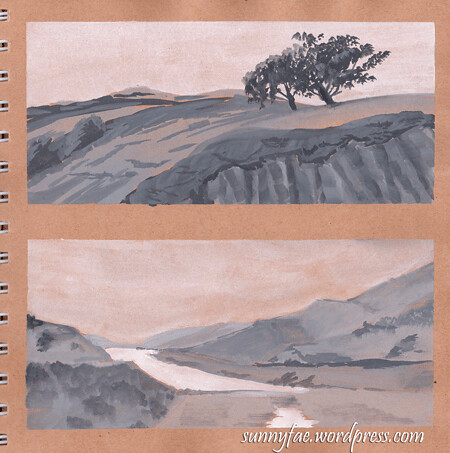 landscape value studies 2