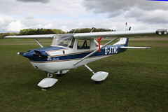 G-ATMC Reims-Cessna F.150F [0020] Popham 081017