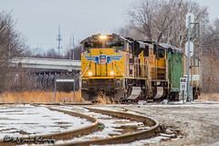 UP 8447 | EMD SD70ACe | CN Memphis Subdivision