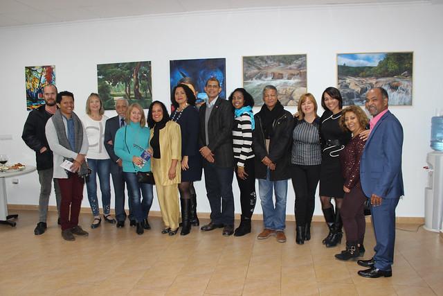 Inauguración de la Exposición Colectiva de Artistas Plásticos Dominicanos