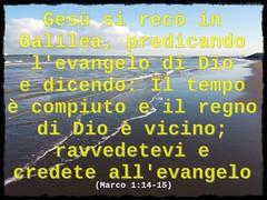 Ravvedetevi e credete nell'Evangelo