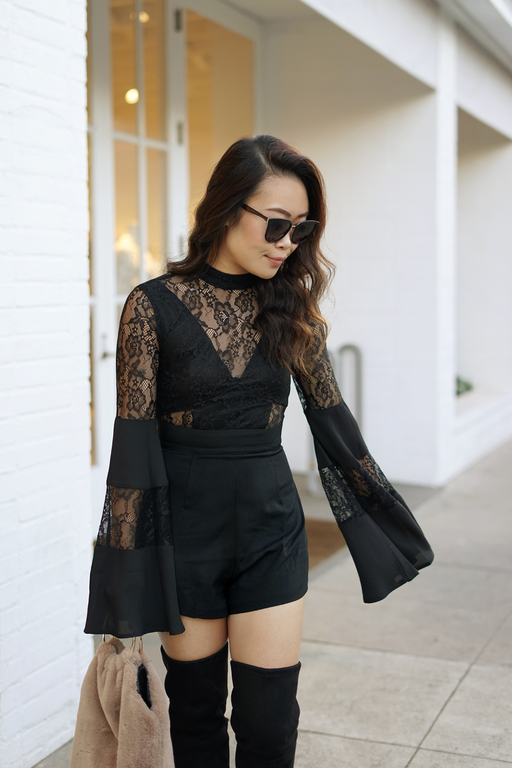 07black-lace-romper-melrose-fashion-ootd