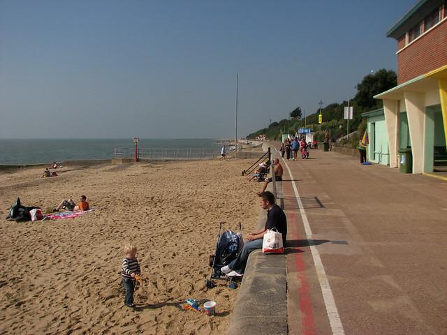 The coast at Clacton-on-Sea