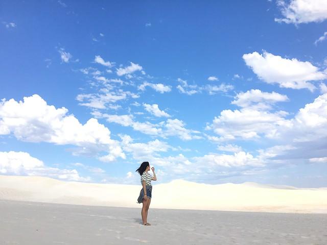 西澳有名的Lancelin Sand Dunes,普通小路拐個彎,瞬間進入沙的世界,彷彿平行時空。