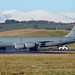 61-0294 United States Air Force Boeing KC135R at Edinburgh on 20 January 2018