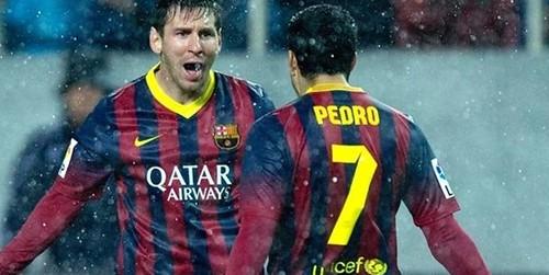 Pedro: Messi tidak terkalahkan