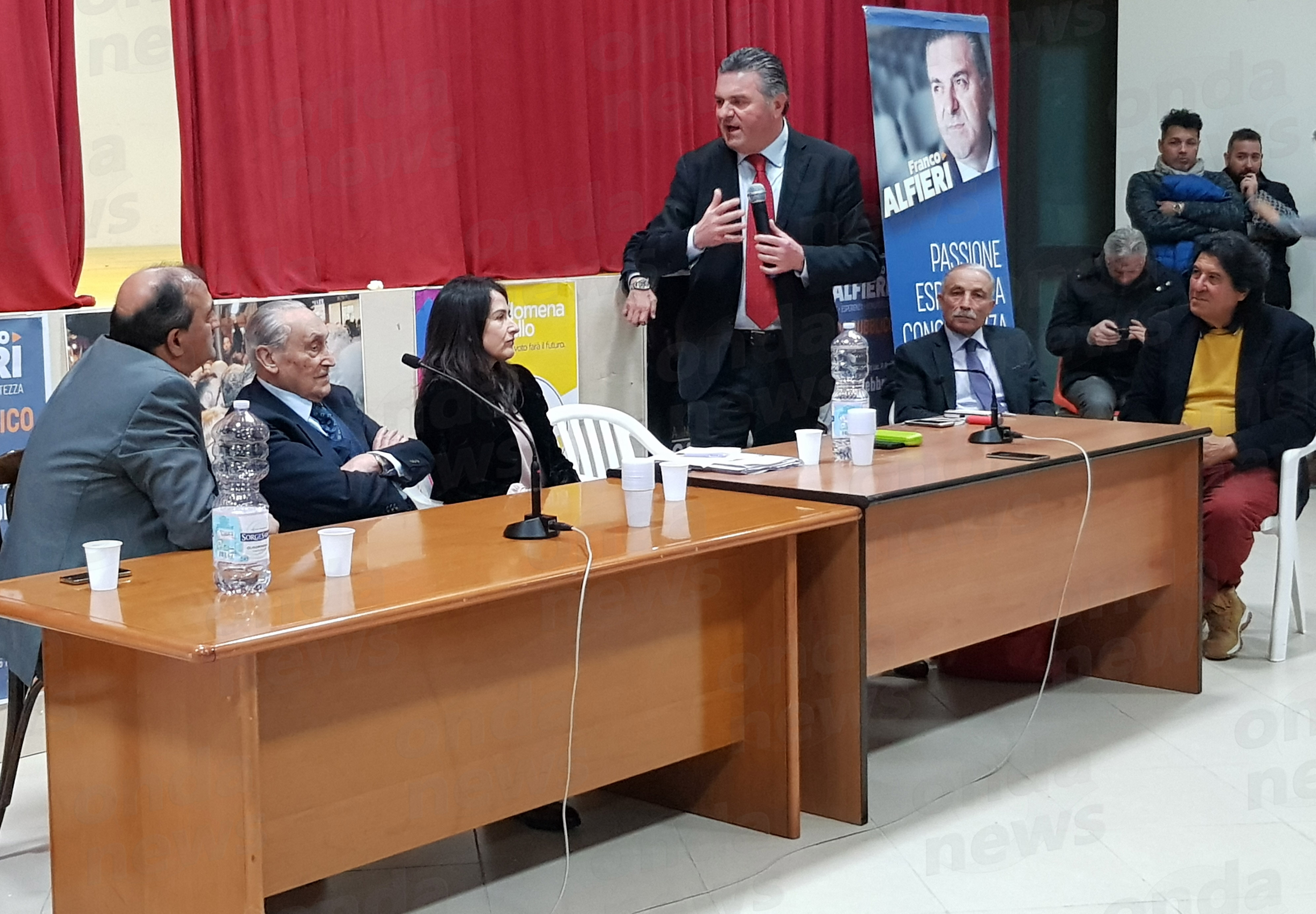 Franco Alfieri a Teggiano