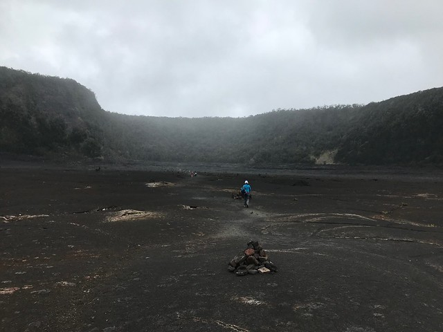 2018 - Big Island - Hawaii - Day 4 - Hiking the Kilauea Iki Trail
