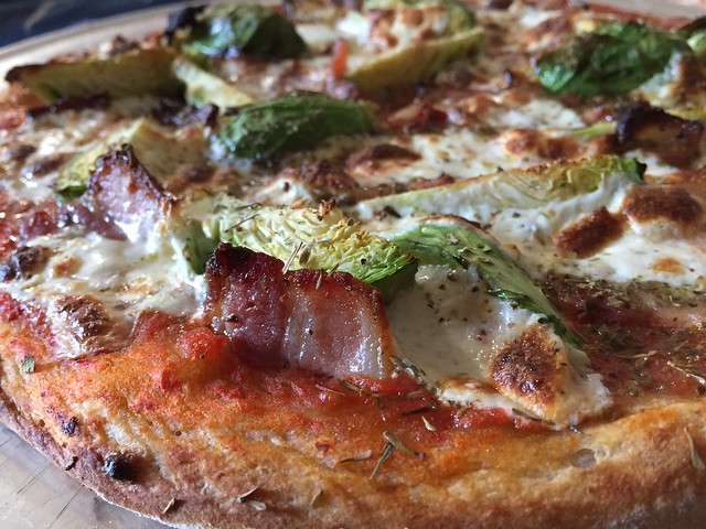 Bacon / Brussels Sprouts Pizza