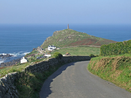 The road to Cape Cornwall