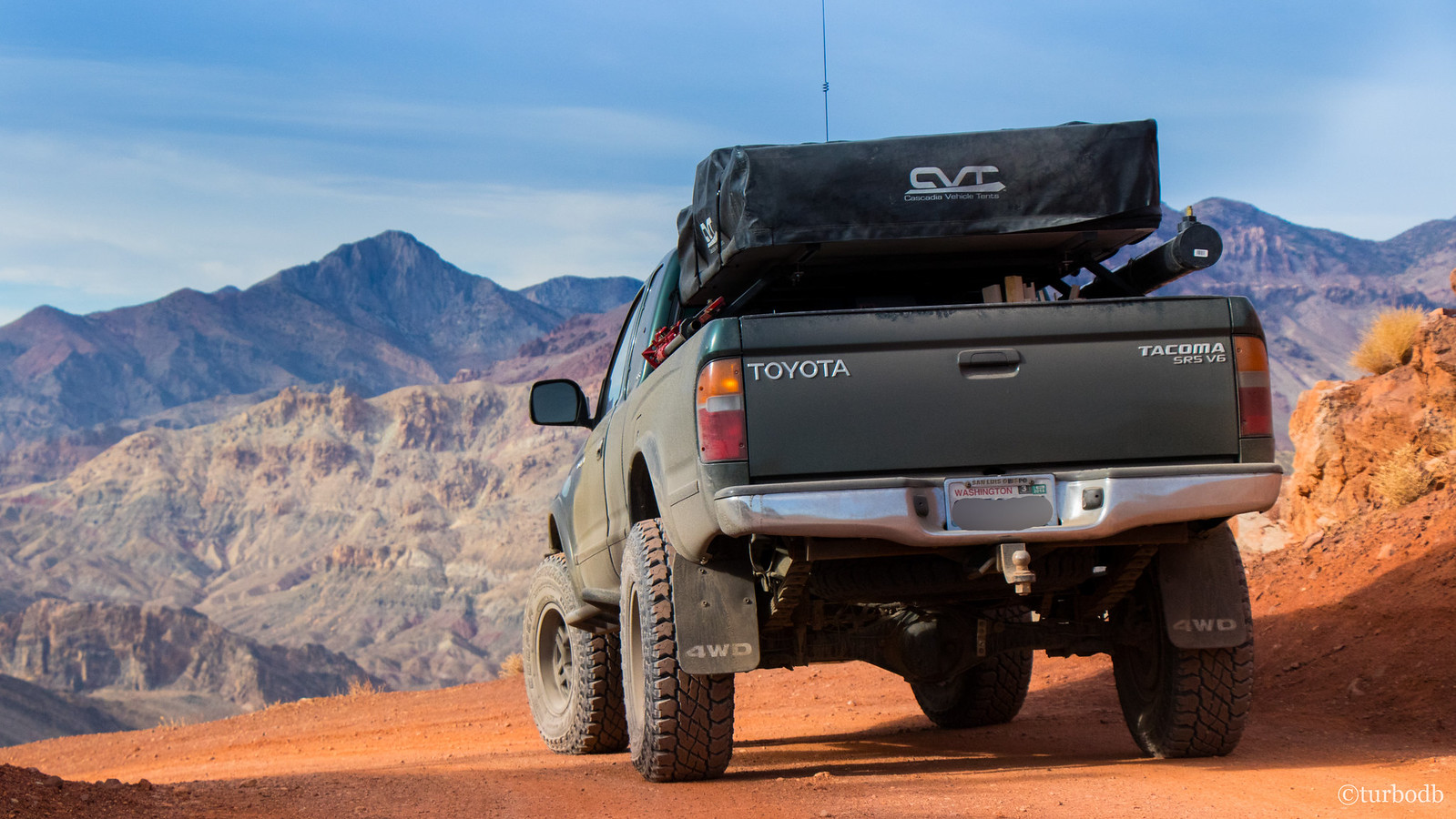 AdventureTaco in Death Valley, California
