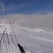 Pohled k Gipfellift II, v čase návštěvy mimo provoz