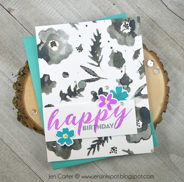 Jen Carter Winnie Walter Victoria's Very Merry Flowers Happy