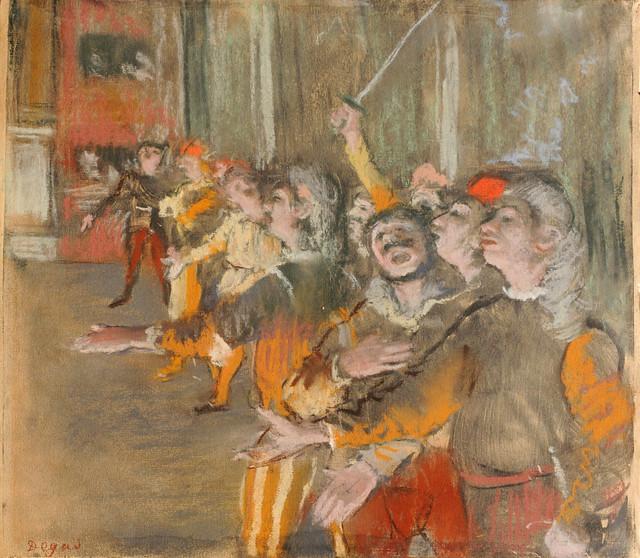 Les choristes de Degas