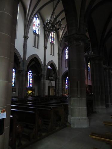 20140804 02 484 Jakobus Marienthal Kirche Spitzbögen Säulen
