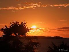 Sunset on St. Martin