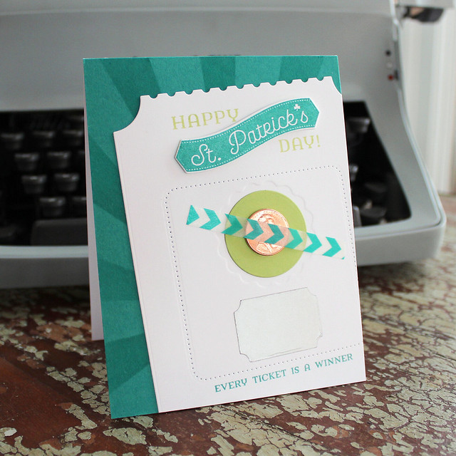 Lizzie Jones Lucky Penny St. Patrick's Day Card