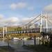 Teddington Weir Footbridge