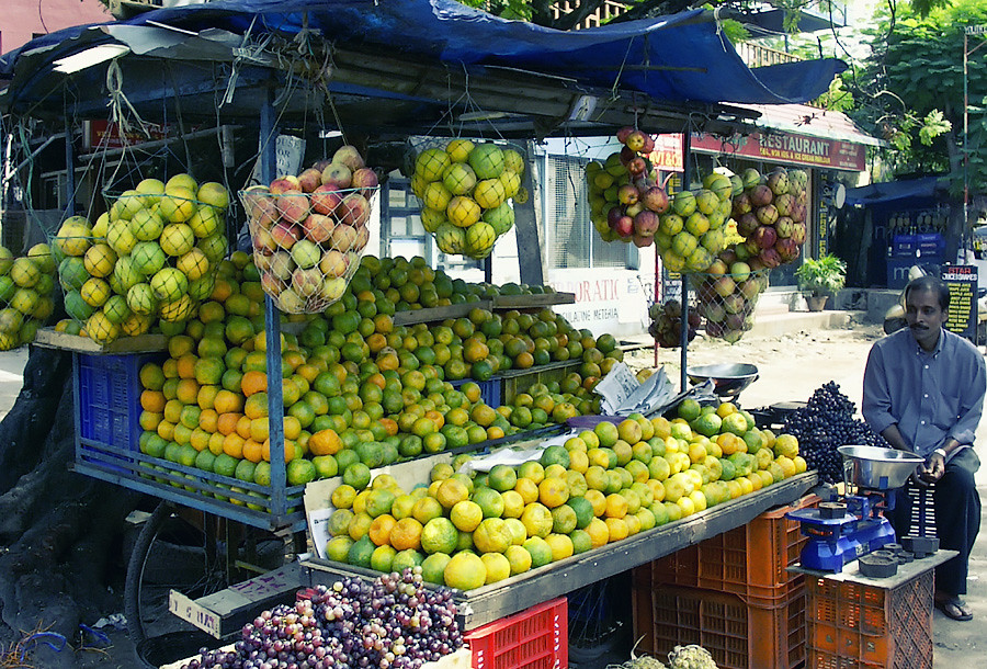 Свежие керальские фрукты.Керала, Индия © Kartzon Dream - авторские путешествия, авторские туры в Индию, тревел видео, фототуры
