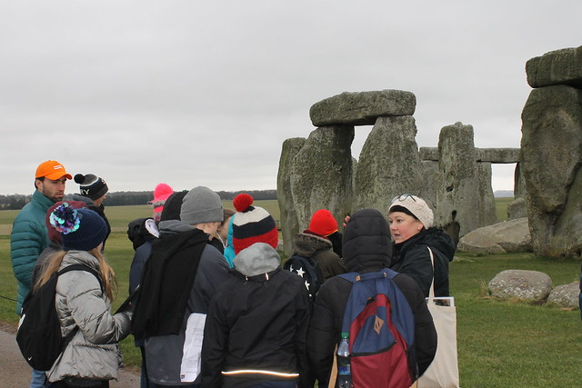 Year 8 trip to Stonehenge - Feb 2018