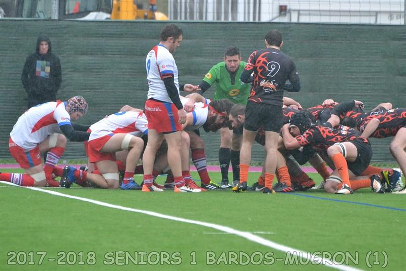 2017-2018 SENIORS 1 BARDOS - MUGRON