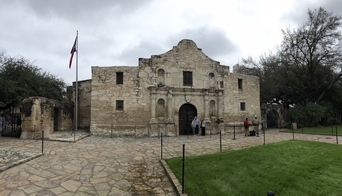 San Antonio - The Alamo pano