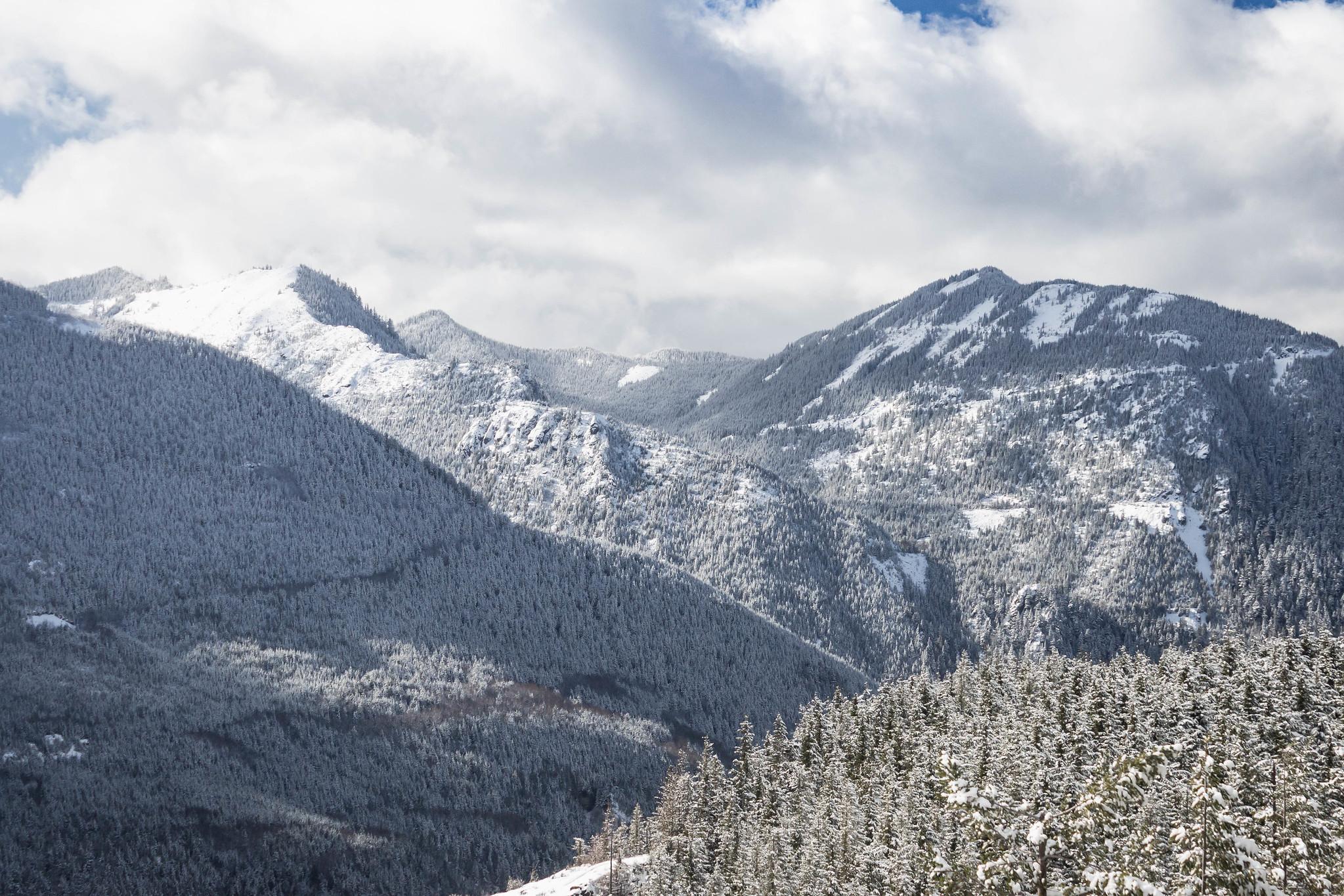 Change Peak and Mount Washington