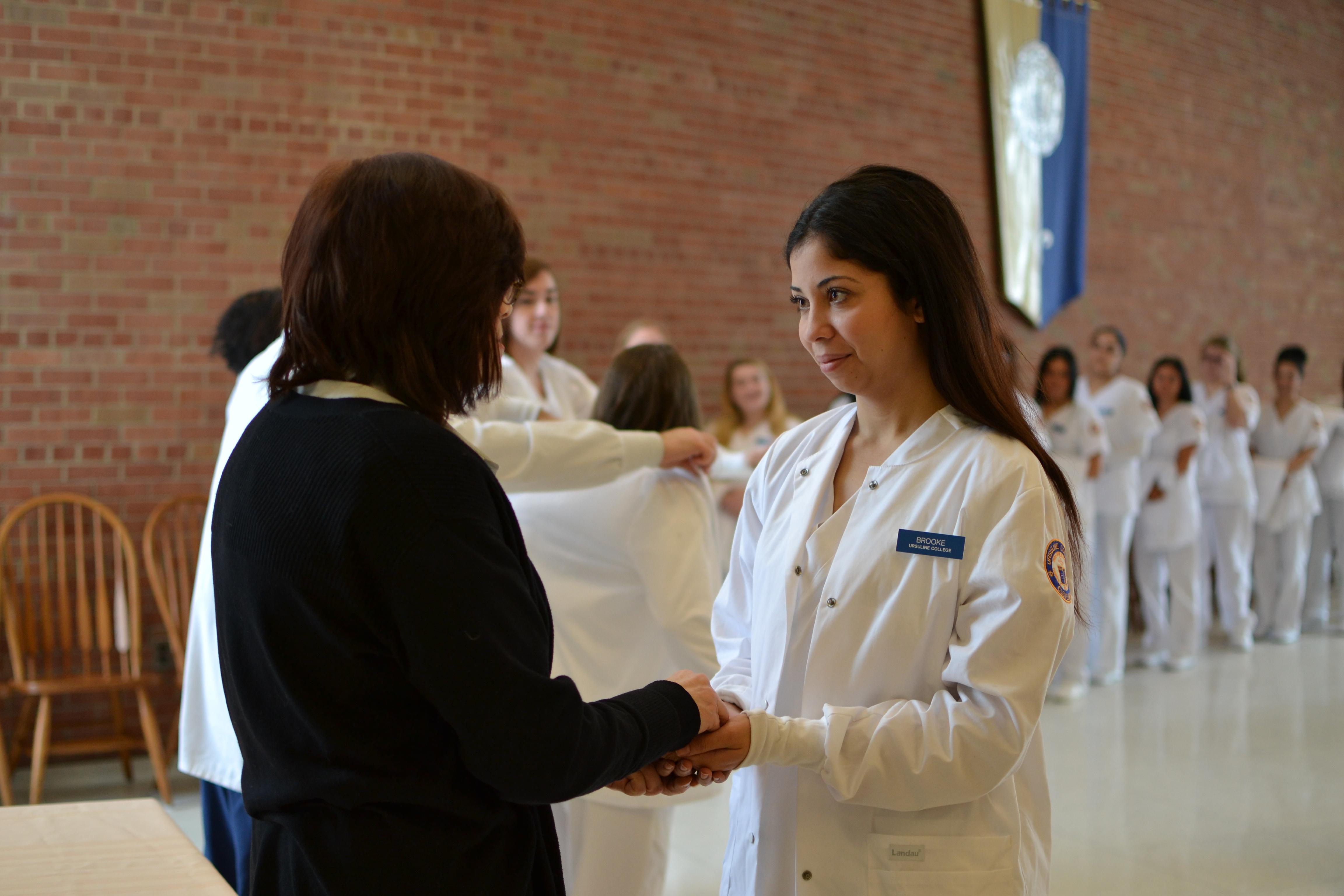 Blessing of the Hands and White Coat Ceremony
