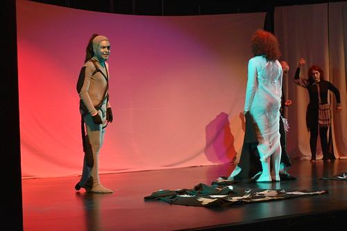 La Revolera con su obra 'El pincel roto' en el Festival de Teatro Aficionado