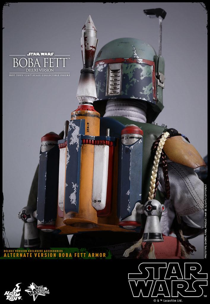 Hot Toys – MMS464 – 星際大戰五部曲:帝國大反擊【波巴.費特。豪華版】Boba Fett Deluxe Ver. 1/6 比例人偶作品