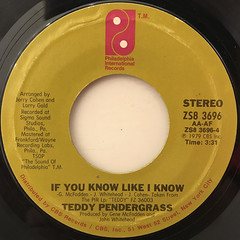 TEDDY PENDERGRASS:TURN OFF THE LIGHTS(LABEL SIDE-B)