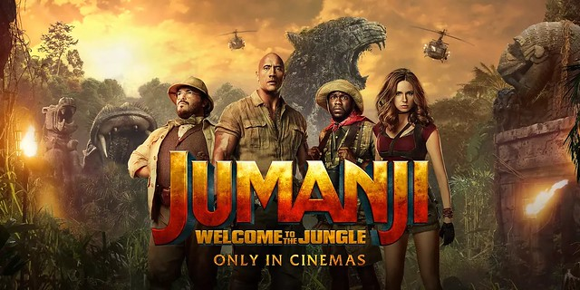[REVIEW FILM] JUMANJI : WELCOME TO THE JUNGLE – Berpetualang Di Dunia Games.